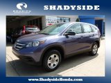 2012 Twilight Blue Metallic Honda CR-V LX 4WD #105849999