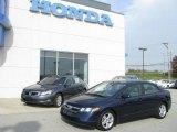 2007 Royal Blue Pearl Honda Civic EX Sedan #10537357
