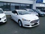 2013 Oxford White Ford Fusion Energi Titanium #105850058