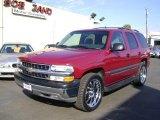2004 Sport Red Metallic Chevrolet Tahoe LS #1055723