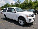 2015 White Platinum Metallic Tri-Coat Ford Expedition EL Limited 4x4 #105870538