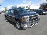 2015 Tungsten Metallic Chevrolet Silverado 1500 LT Z71 Crew Cab 4x4 #105870712