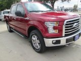2015 Ruby Red Metallic Ford F150 XLT SuperCrew 4x4 #105870530