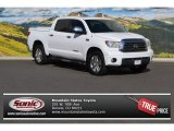 2008 Super White Toyota Tundra Limited CrewMax 4x4 #105891768