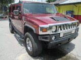 2003 Red Metallic Hummer H2 SUV #105892093