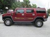 2003 Hummer H2 Red Metallic