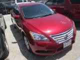 2014 Red Brick Nissan Sentra SV #105891890
