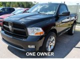 2012 Black Dodge Ram 1500 ST Regular Cab 4x4 #105892147