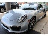 2016 Porsche 911 Rhodium Silver Metallic