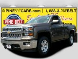 2015 Brownstone Metallic Chevrolet Silverado 1500 LT Regular Cab 4x4 #105891779