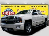 2015 White Diamond Tricoat Chevrolet Silverado 1500 High Country Crew Cab 4x4 #105891777