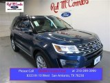 2016 Blue Jeans Metallic Ford Explorer Limited #105927040
