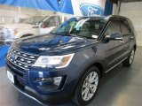 Blue Jeans Metallic Ford Explorer in 2016
