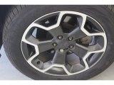Subaru XV Crosstrek 2014 Wheels and Tires