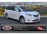 2015 Blizzard White Pearl Toyota Sienna Limited AWD #105926966