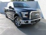2015 Blue Jeans Metallic Ford F150 XLT SuperCrew 4x4 #105927216