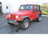 2004 Jeep Wrangler Flame Red