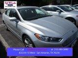 2016 Ingot Silver Metallic Ford Fusion Hybrid Titanium #105954477