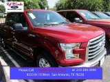 2015 Ruby Red Metallic Ford F150 XLT SuperCrew #105954463