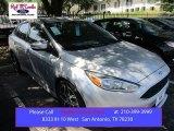 2015 Ingot Silver Metallic Ford Focus SE Sedan #105954446