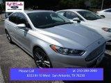 2015 Ingot Silver Metallic Ford Fusion Titanium #105954442