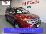 2013 Ruby Red Metallic Ford Explorer FWD #105954541