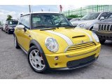2005 Liquid Yellow Mini Cooper S Hardtop #105954297