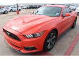 2015 Ford Mustang V6 Coupe Front 3/4 View