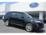 Shadow Black Ford Explorer in 2016