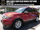 2014 Ruby Red Ford Explorer XLT 4WD #105990456