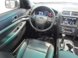 2016 Ford Explorer XLT Ebony Black Interior