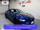 2015 Deep Impact Blue Metallic Ford Mustang GT Coupe #105990139