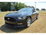 2015 Black Ford Mustang EcoBoost Coupe #105990494