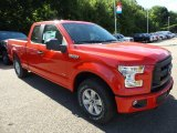 2015 Ford F150 XL SuperCab 4x4 Front 3/4 View