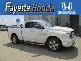 2011 Bright White Dodge Ram 1500 SLT Quad Cab 4x4 #105990537