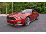 2015 Ruby Red Metallic Ford Mustang EcoBoost Premium Coupe #106050130