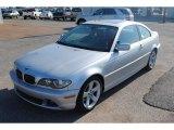 2004 Titanium Silver Metallic BMW 3 Series 325i Coupe #106050163
