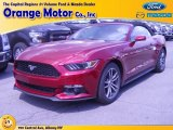 2015 Ruby Red Metallic Ford Mustang EcoBoost Premium Convertible #106050044