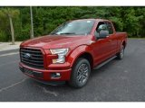 2015 Ruby Red Metallic Ford F150 XLT SuperCab #106071883
