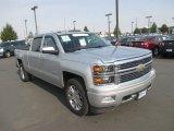 2014 Silver Ice Metallic Chevrolet Silverado 1500 High Country Crew Cab 4x4 #106071869