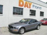 2007 Tungsten Grey Metallic Ford Mustang V6 Premium Convertible #10595558