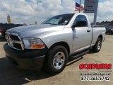 2009 Bright Silver Metallic Dodge Ram 1500 ST Regular Cab #106071706