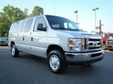 2008 Silver Metallic Ford E Series Van E350 Super Duty XLT Passenger #10601295