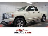 2008 Bright White Dodge Ram 1500 Big Horn Edition Quad Cab 4x4 #106071443