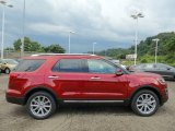 2016 Ruby Red Metallic Tri-Coat Ford Explorer Limited 4WD #106071603