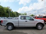 2015 Ingot Silver Metallic Ford F150 XL SuperCab 4x4 #106071600