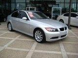 2007 Titanium Silver Metallic BMW 3 Series 328xi Sedan #10601967