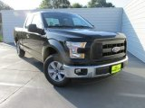 2015 Tuxedo Black Metallic Ford F150 XL SuperCab #106071763