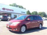 2012 Salsa Red Pearl Toyota Sienna Limited AWD #106071967