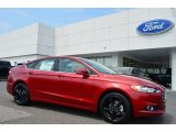 2016 Ruby Red Metallic Ford Fusion SE #106113486